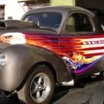 vehicle wraps, car graphics, vehicle magnets