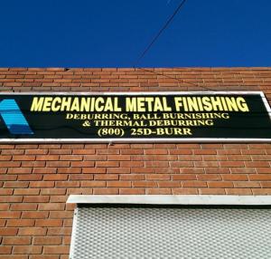 Large Format Metal-finishing